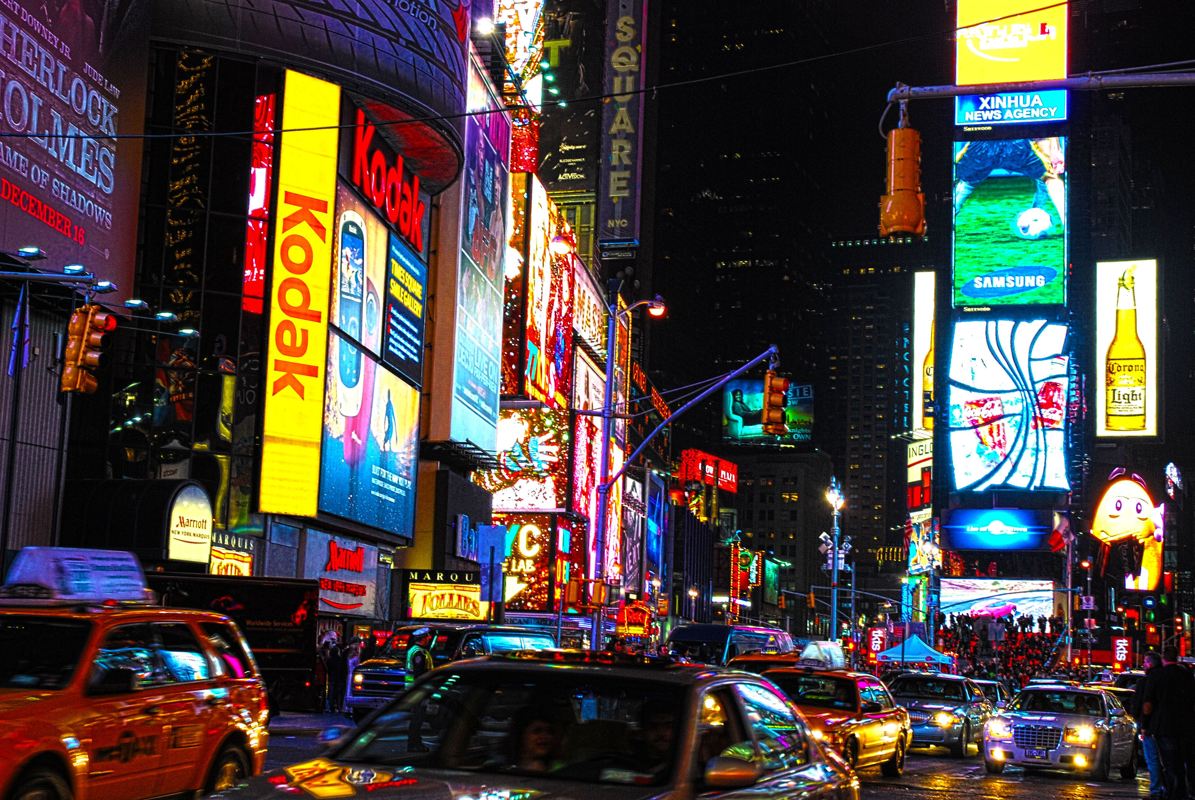 i love nyc the energy there is amazing times square by night