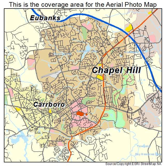 Chapel Hill Nc Map Uptowncritters - Ncmap