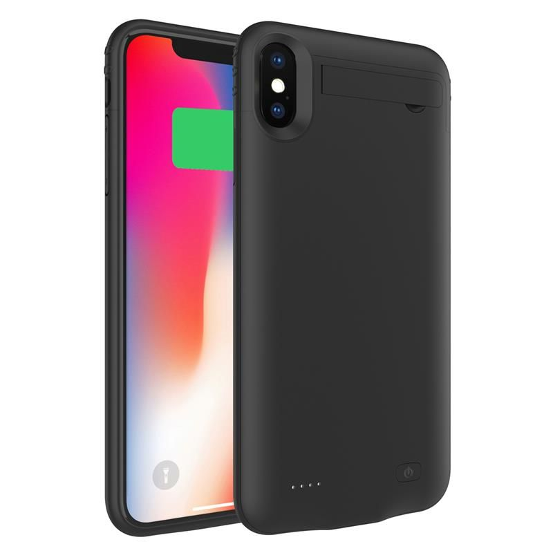 For iphone xs max battery charger case 5200mah