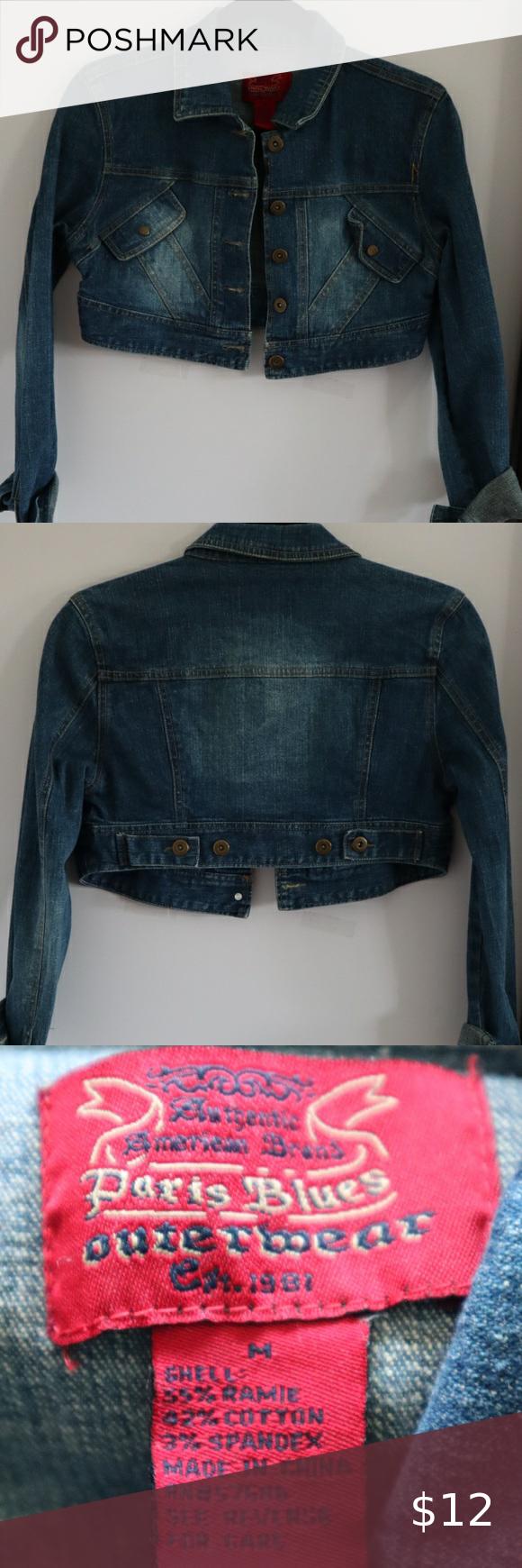 Cropped Blue Jean Jacket Crop Blue Jean Jacket Jean Jacket Blue Jean Jacket [ 1740 x 580 Pixel ]