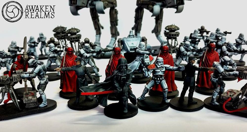 Awesome Star Wars miniatures