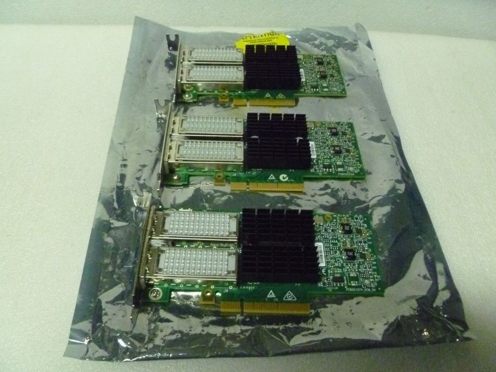 LOT OF 3 Mellanox ConnectX-3 QDR InfiniBand 10GIGE 050-0050