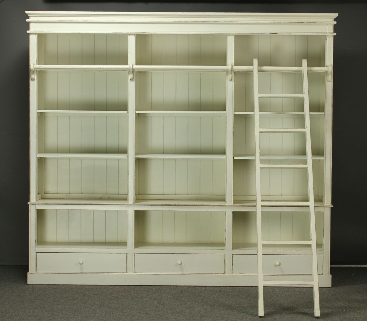 Book Shelves Made Of Solid Wood In French Country Style