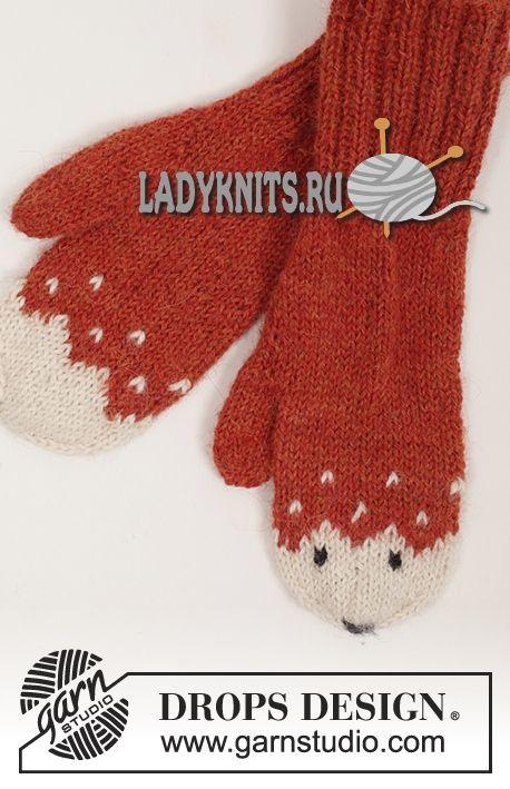 Вязание варежек и носок спицами 16