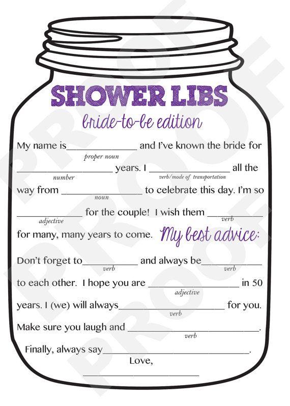 bridal shower game mason jar theme shower by aestheticjourneys 1000