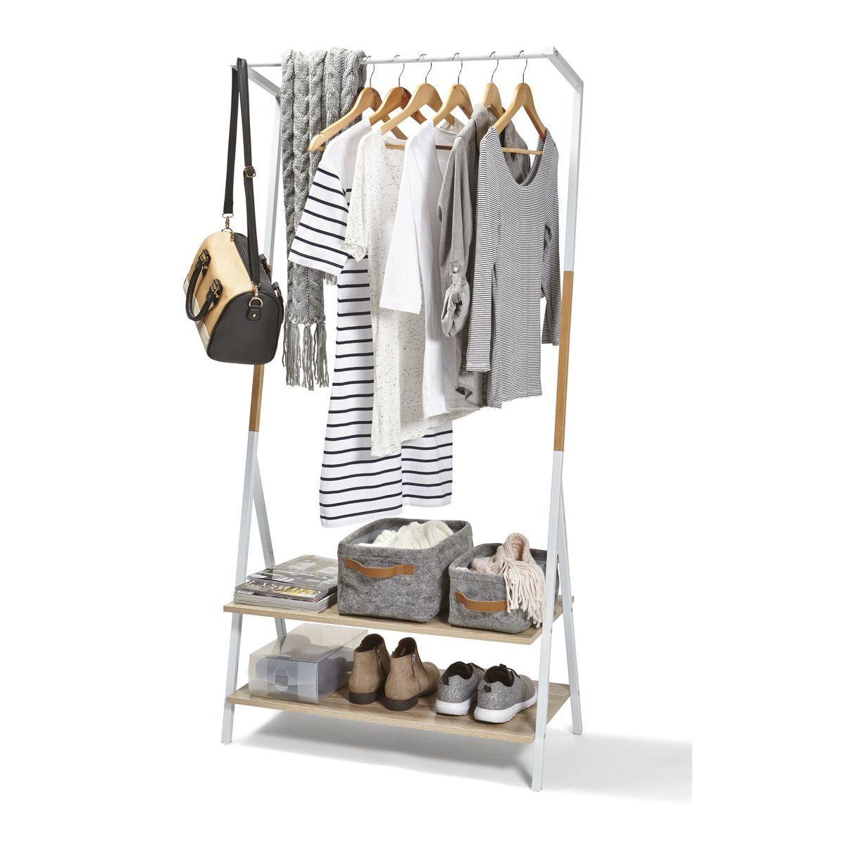Scandi Garment Rack Clothing Rack Garment Racks Kmart Clothes