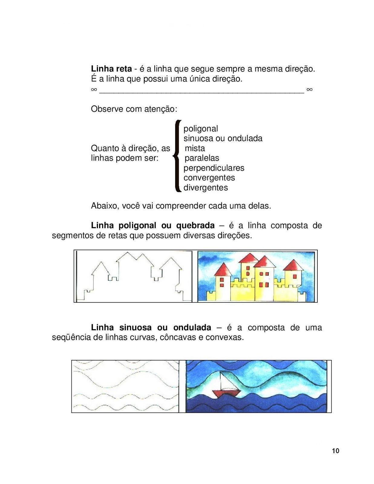 Atividades De Artes Com Linhas Para Aprendizado Infantil Com