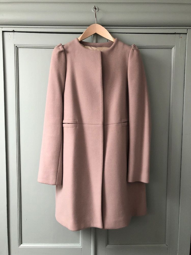 bb05ef10b02 Zara Womens Wool Mix Coat Size Small  fashion  clothing  shoes  accessories   womensclothing  coatsjacketsvests (ebay link)