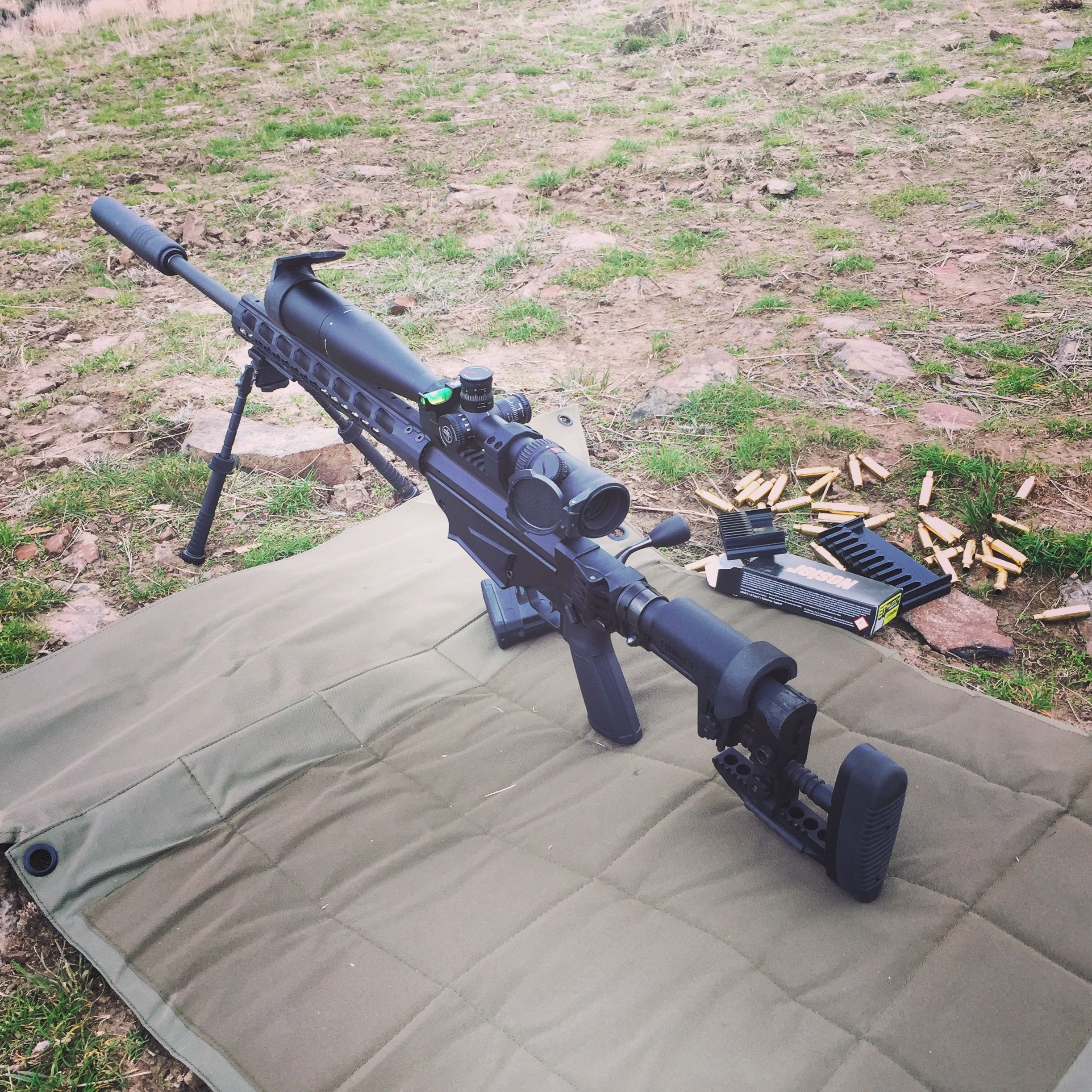 Tuning Up A Ruger Precision Rifle In 6.5 Creedmoor.Loading