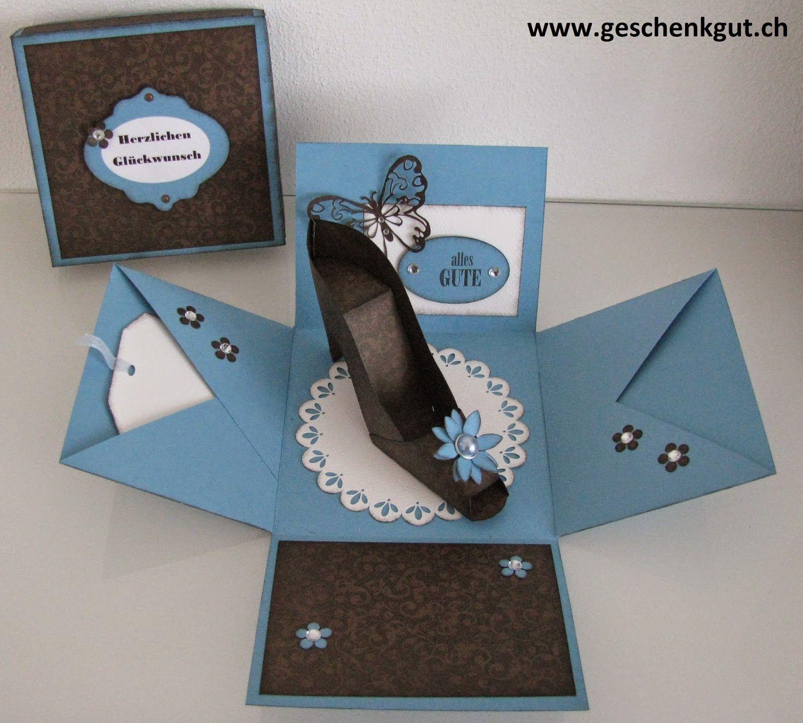 Überraschungsbox Hight Heels Schuh (mit Bildern