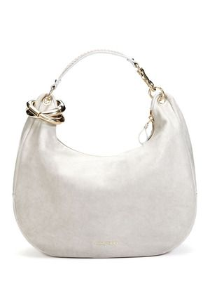 e8746220ab Jimmy Choo Large Solar Leather Shoulder Bag