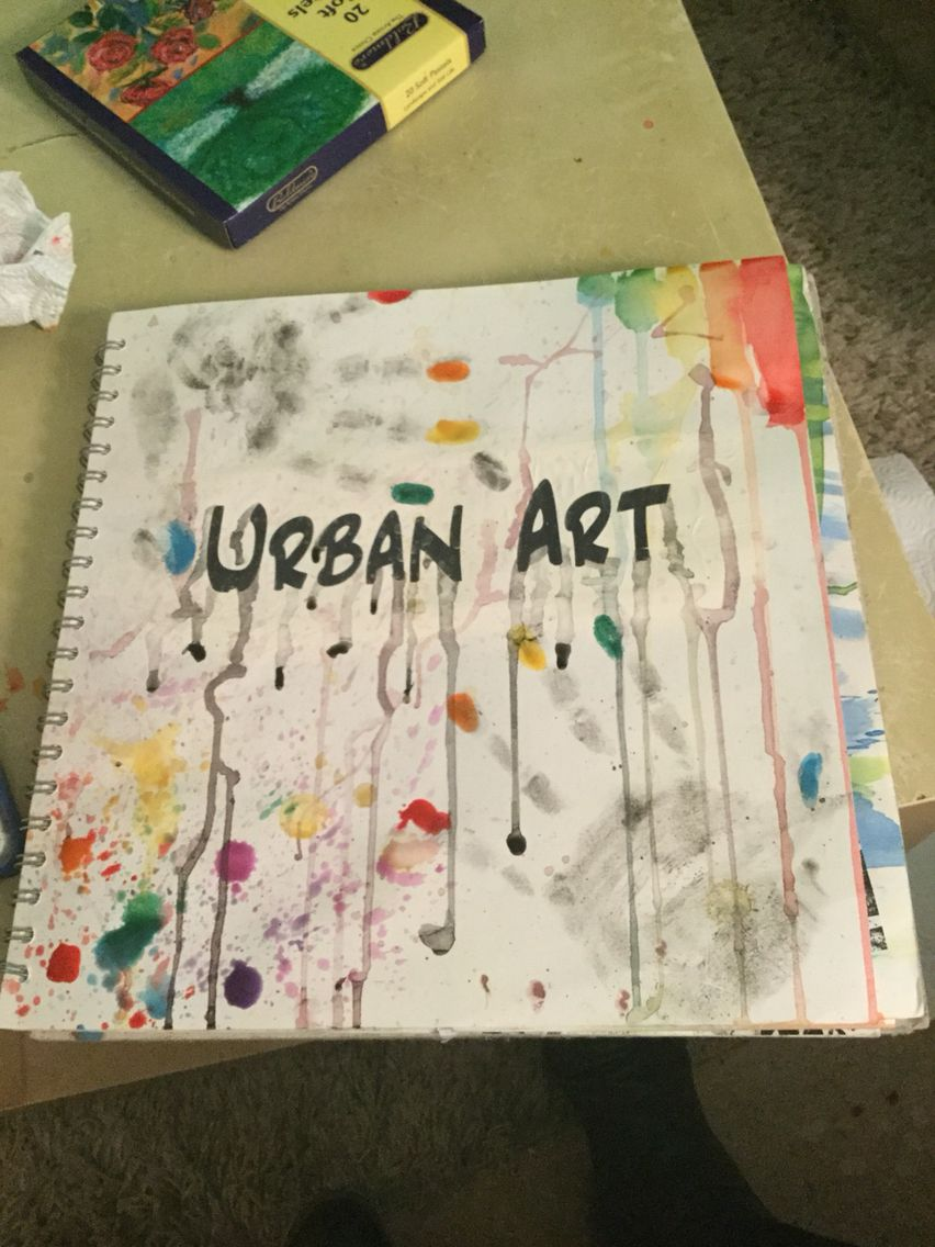Snazzy Title Page For My Gcse Art Sketchbook 0 Art
