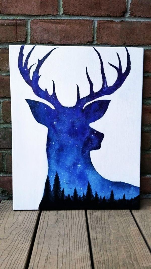 Best Canvas Painting Ideas for Beginners –  (13) #ad
