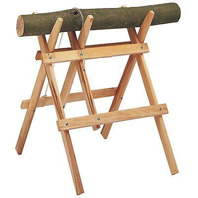 Super Sägebock Klappbock Holzbock zum Sägen von Holz Brennholz Buche &TB_25