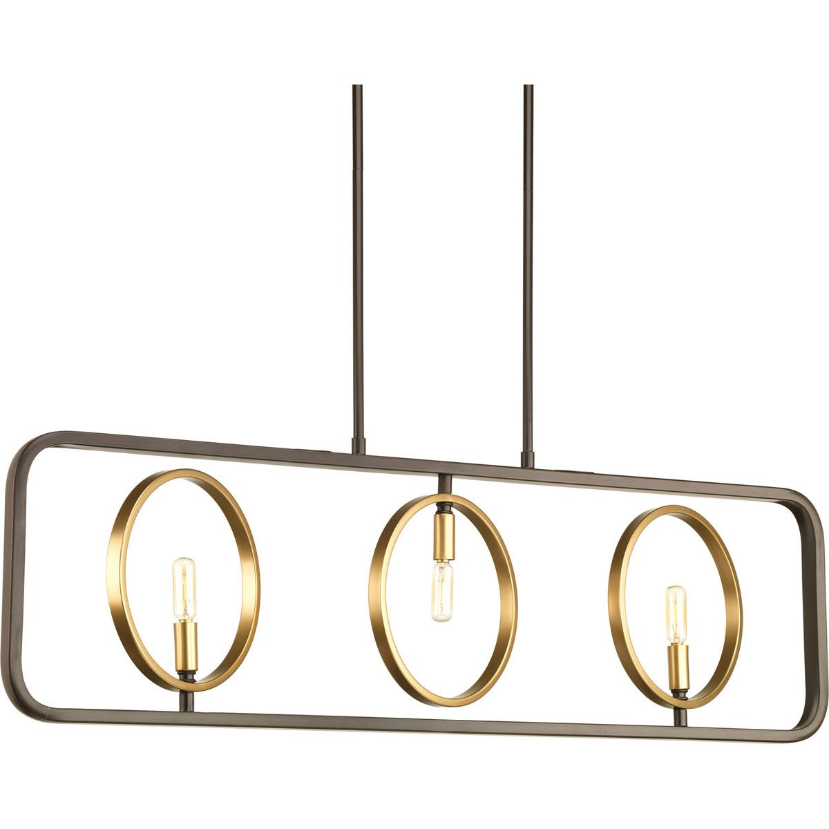 Swing 3-Light Kitchen Island Pendant