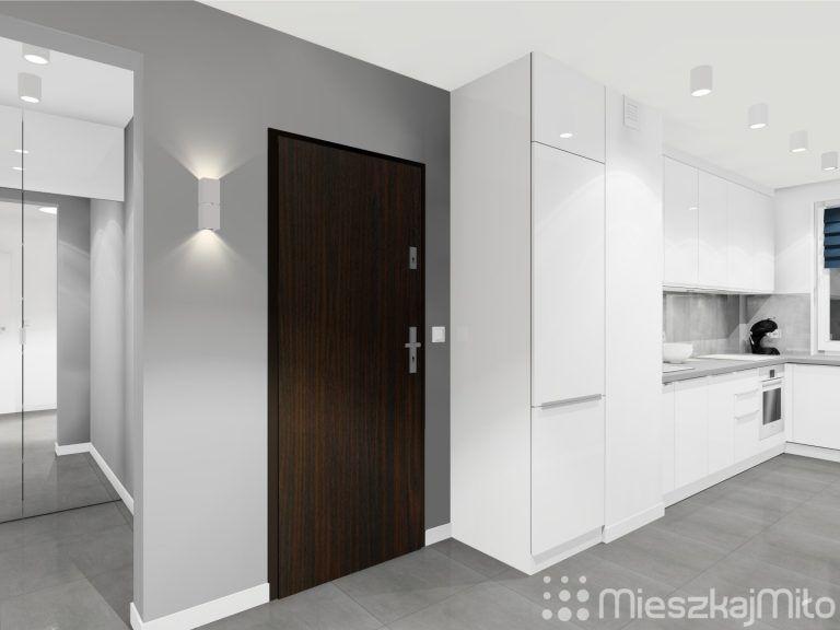 Kuchnia Otwarta Na Przedpokoj Tall Cabinet Storage Furniture Home Decor