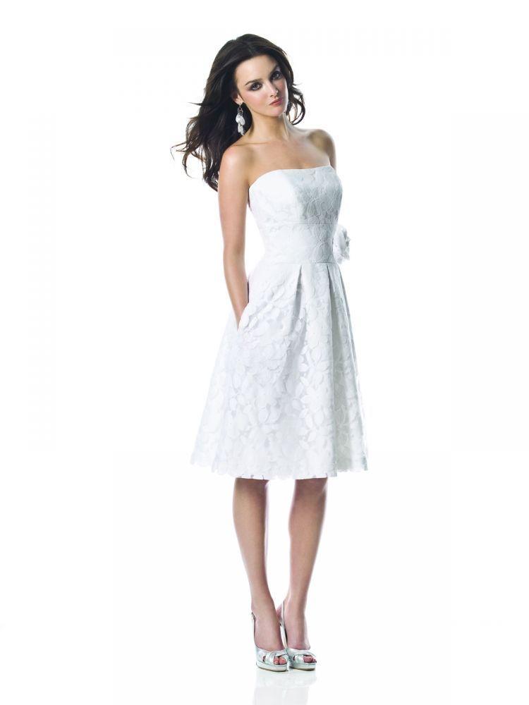 White Wedding Cocktail Dresses