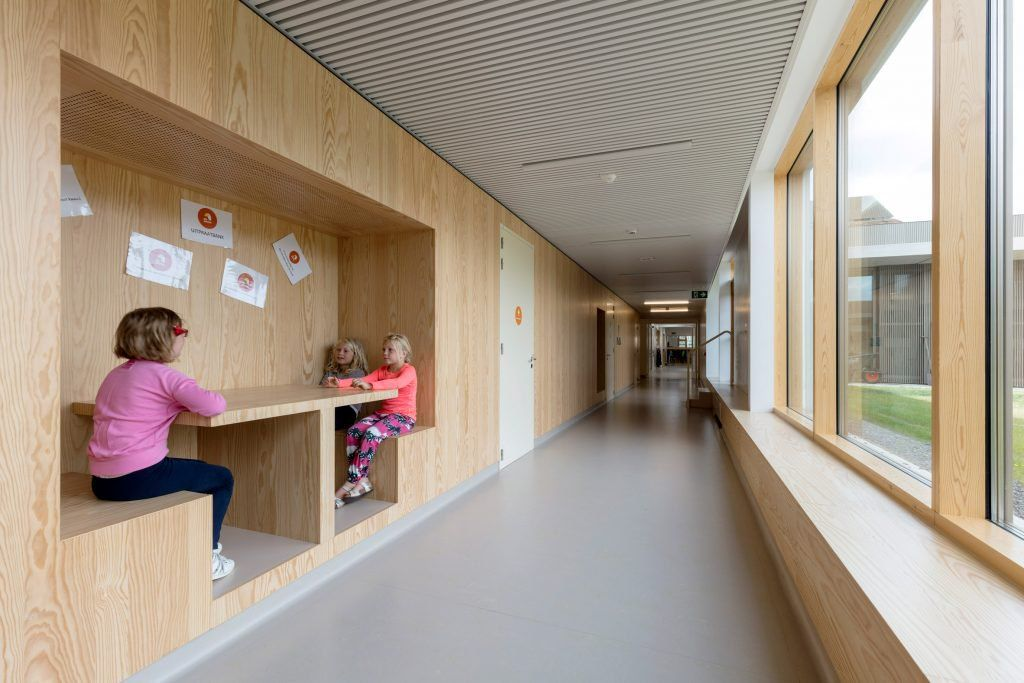 Nl Architects Completes Belgian School Rooms Linked By A Colonnade