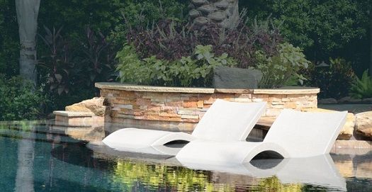 In-Pool Chaise Lounges