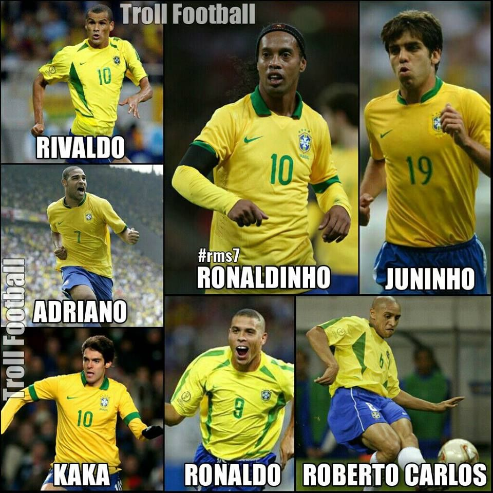 Kids these days don't know this Brazil... | Football jokes ...