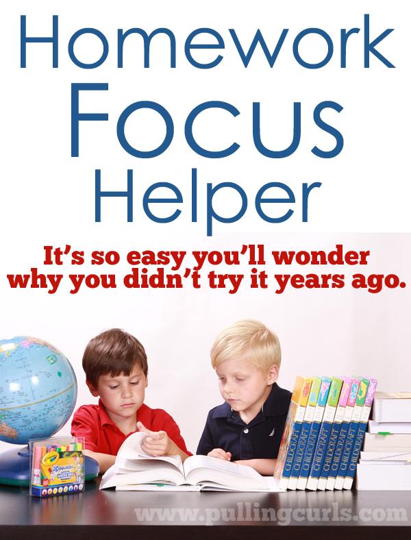 How To Help Homework Focus Kids Focus Help Kids Focus Kids Education