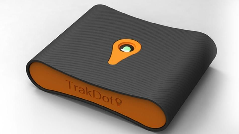 Trackdot Luggage Finder. Never risk losing your luggage again