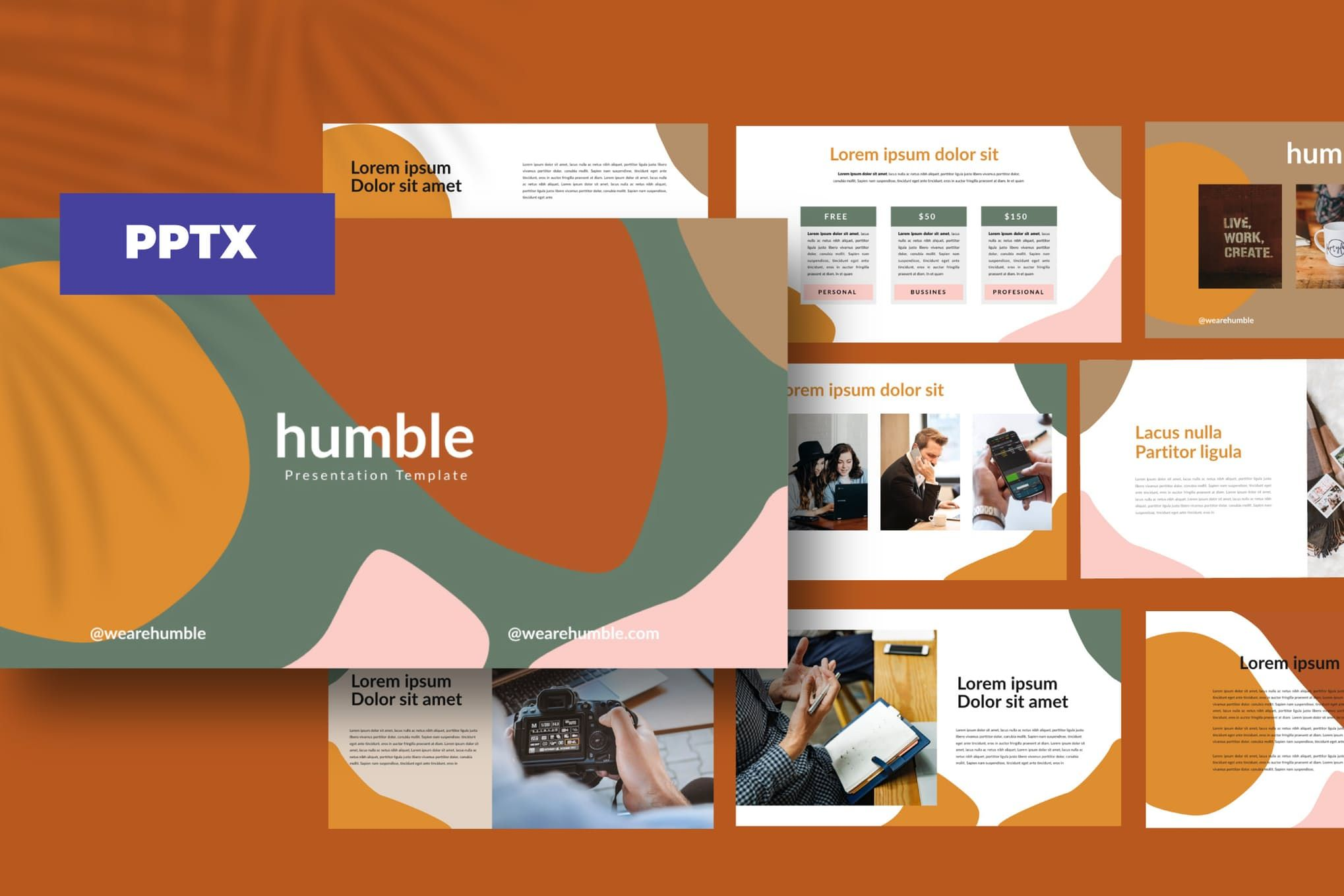 Humble Powerpoint Business Corporate By Dirtylinestudio On Envato Elements Powerpoint Design Templates Presentation Design Template Presentation