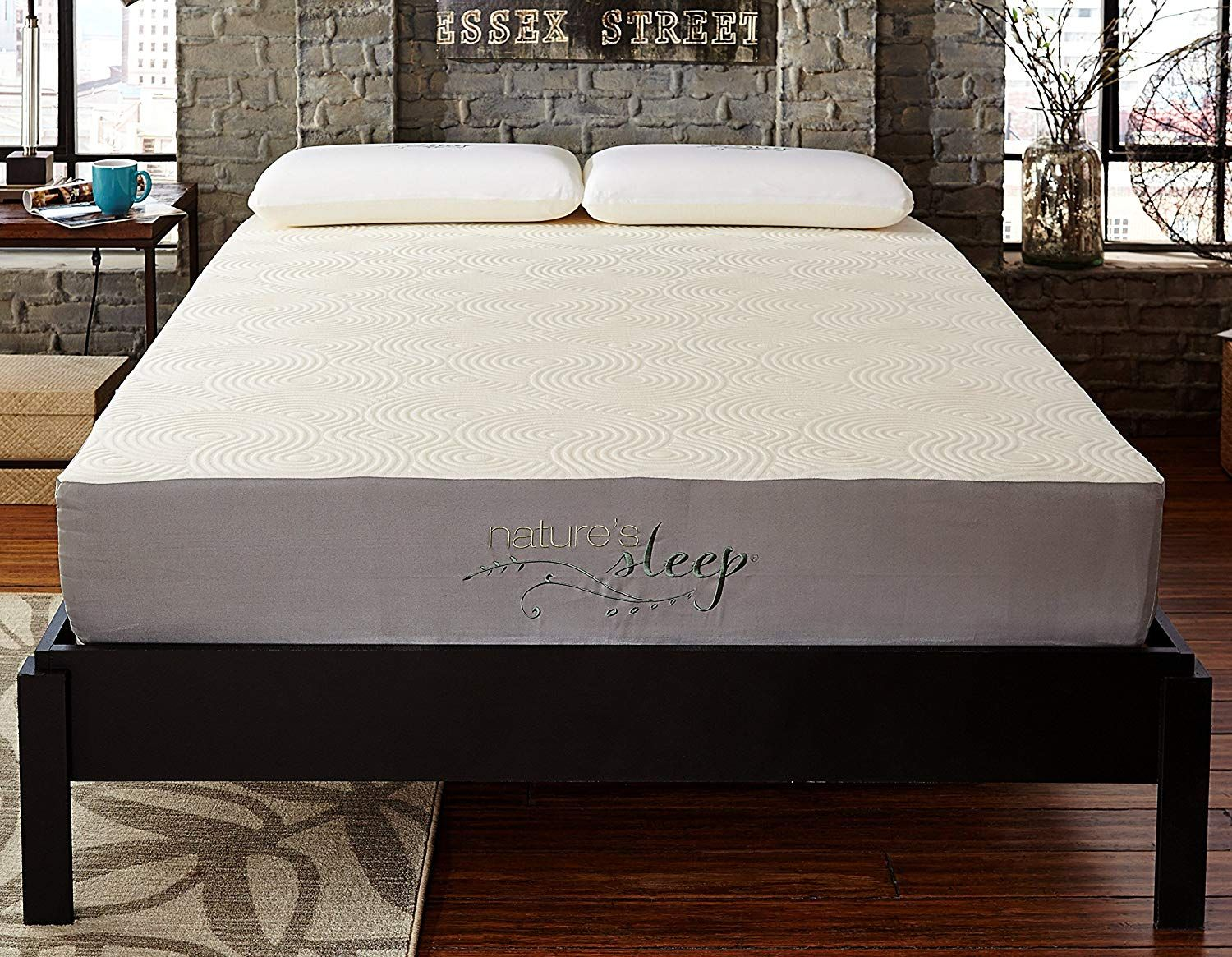 Nature S Sleep 10 Gel Memory Foam Mattress In 2020 Gel Memory Foam Mattress Memory Foam Mattress Foam Mattress