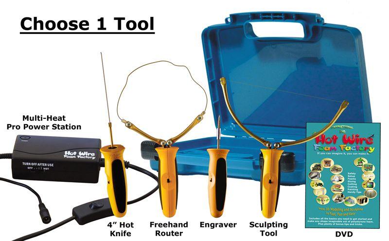 K40 - Pro Model Starter Kit with Multi-Heat Pro Power