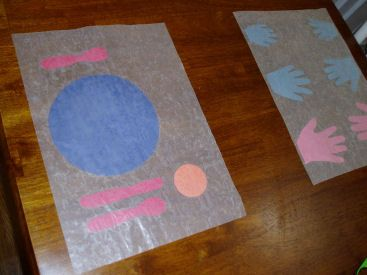 Wax Paper Crafts Wax Paper Placemats Let Kids Get Creative With