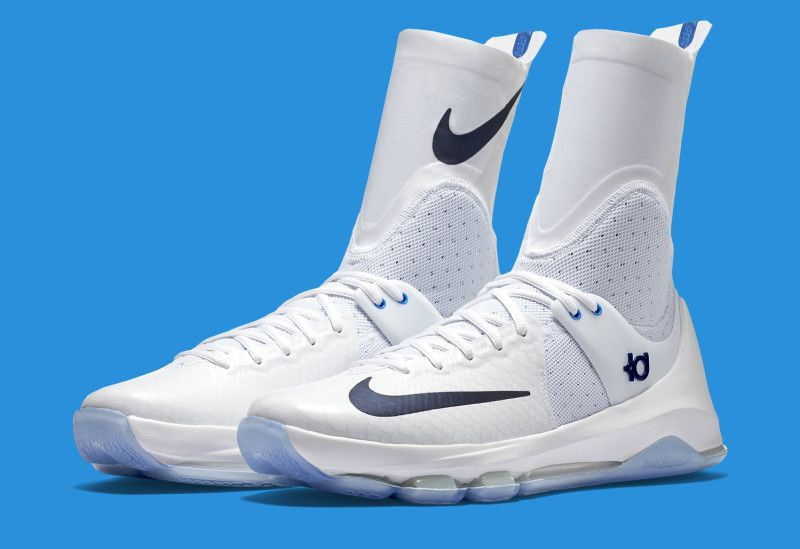 Nike KD 8 Elite in White/Star Blue | Solecollector | Nike