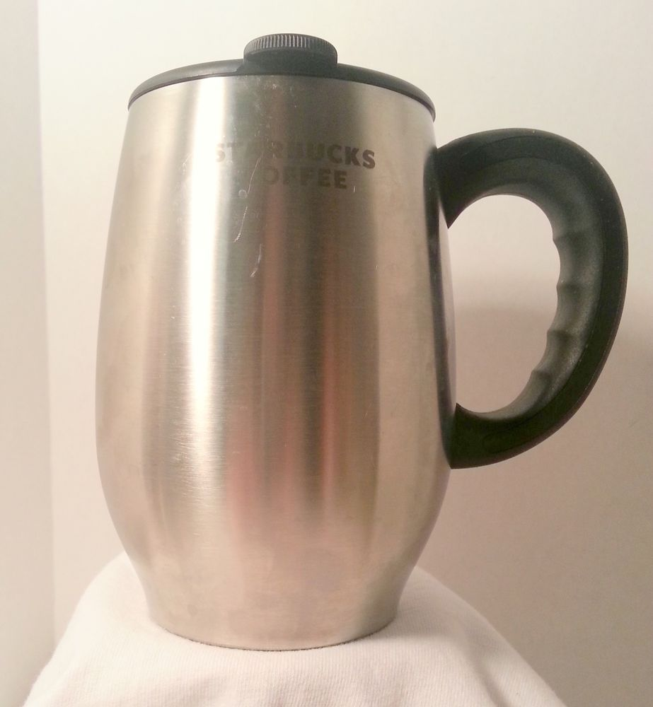 Starbucks stainless steel chubby mug not