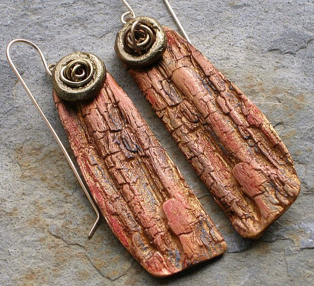 Bark Earrings by Stories They Tell