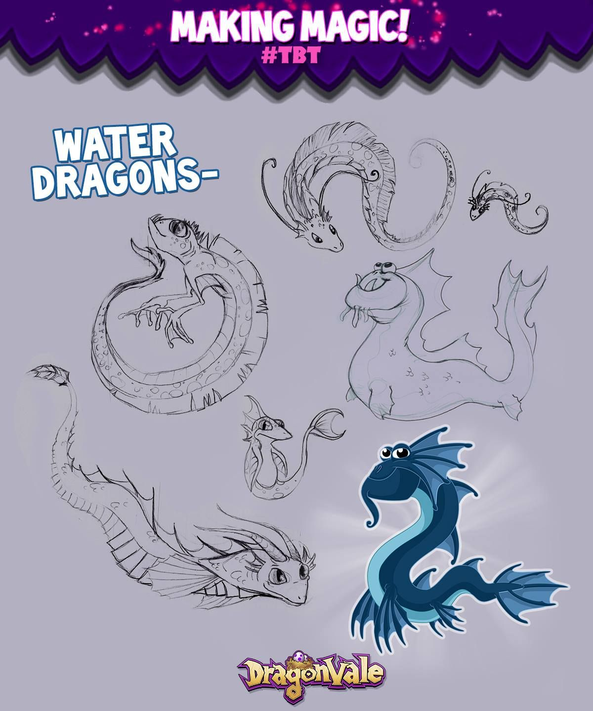 Dragonvale rainbow dragon coloring pages -  Tbt Check Out These Concepts Of Water Dragons Play Dragonvale Http