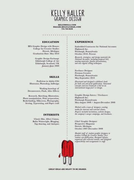 27 Contoh Resume Terbaik ~ Lobak Hangus | Resume | Pinterest