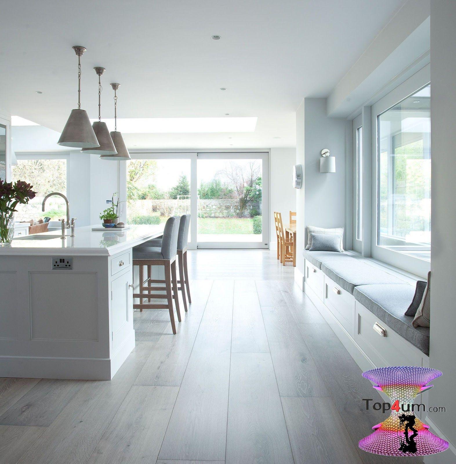 اشيك مطابخ امريكانى 2019 Modern Elegant Kitchens Open Plan Kitchen Living Room Window Seat Kitchen Best Kitchen Designs