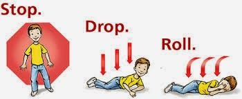 Fingerplays & Action Rhymes: Stop, Drop, and Roll | Fire safety preschool,  First aid for kids, Fire safety theme