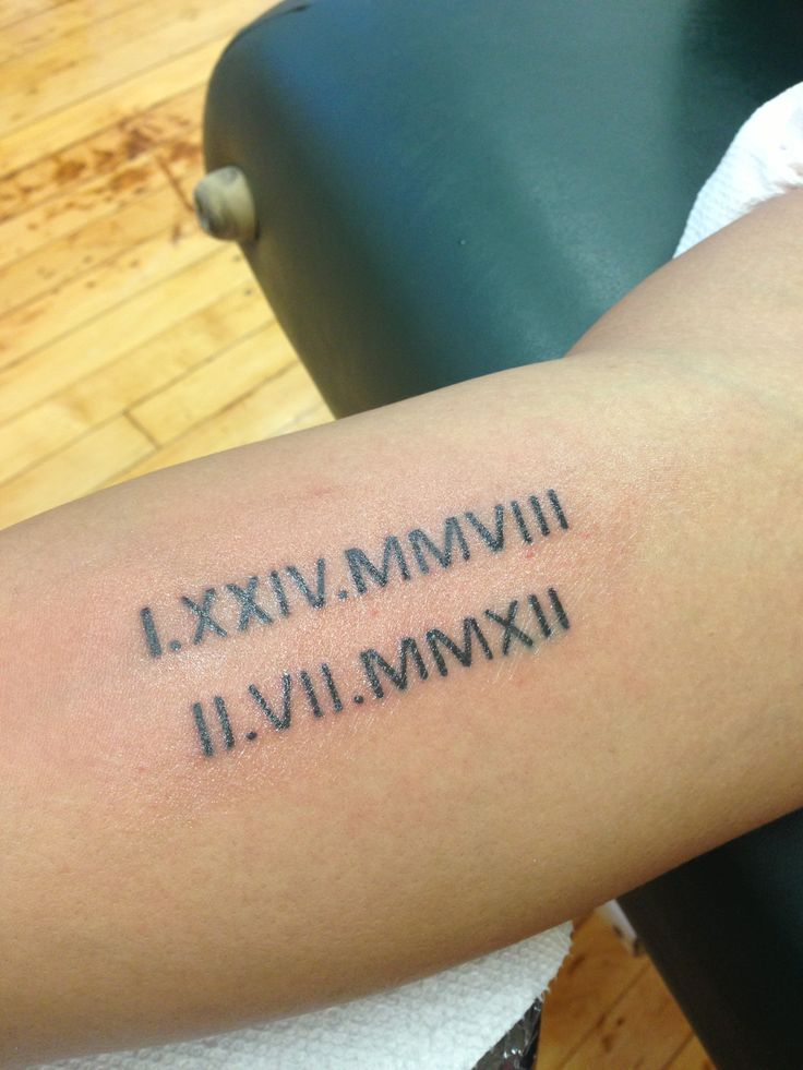 131 Awesome Roman Numeral Tattoos Which Rock T A T T O O S Roman
