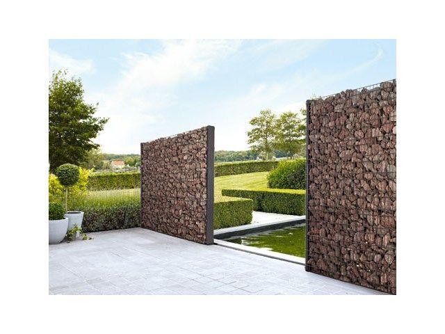 Jardin • gabion de façon naturelle • www.betafence.be/fr-be ...