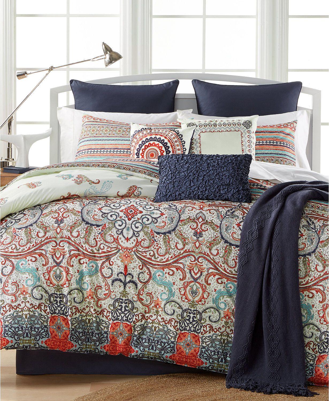 Sorrel Reversible 10 Pc California King Comforter Set Macys Com King Comforter Sets Comforter Sets Queen Comforter Sets