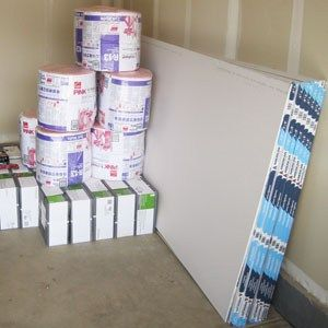 How to Finish a Garage: How we Insulated and Drywalled our New Garage