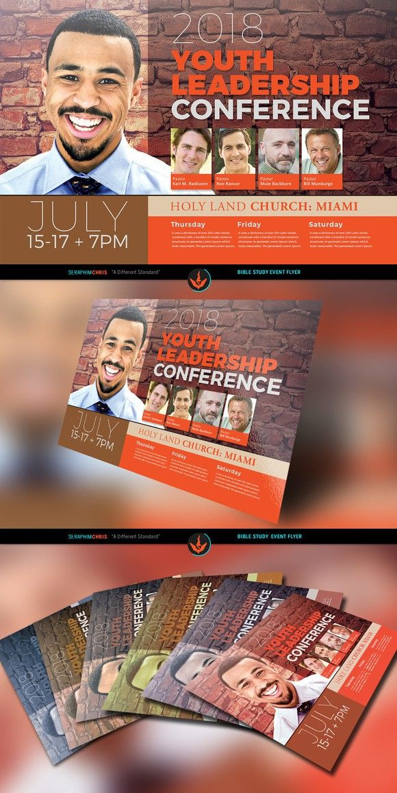 Youth Leadership Conference Flyer Flyer Templates $900 Flyer - conference flyer template