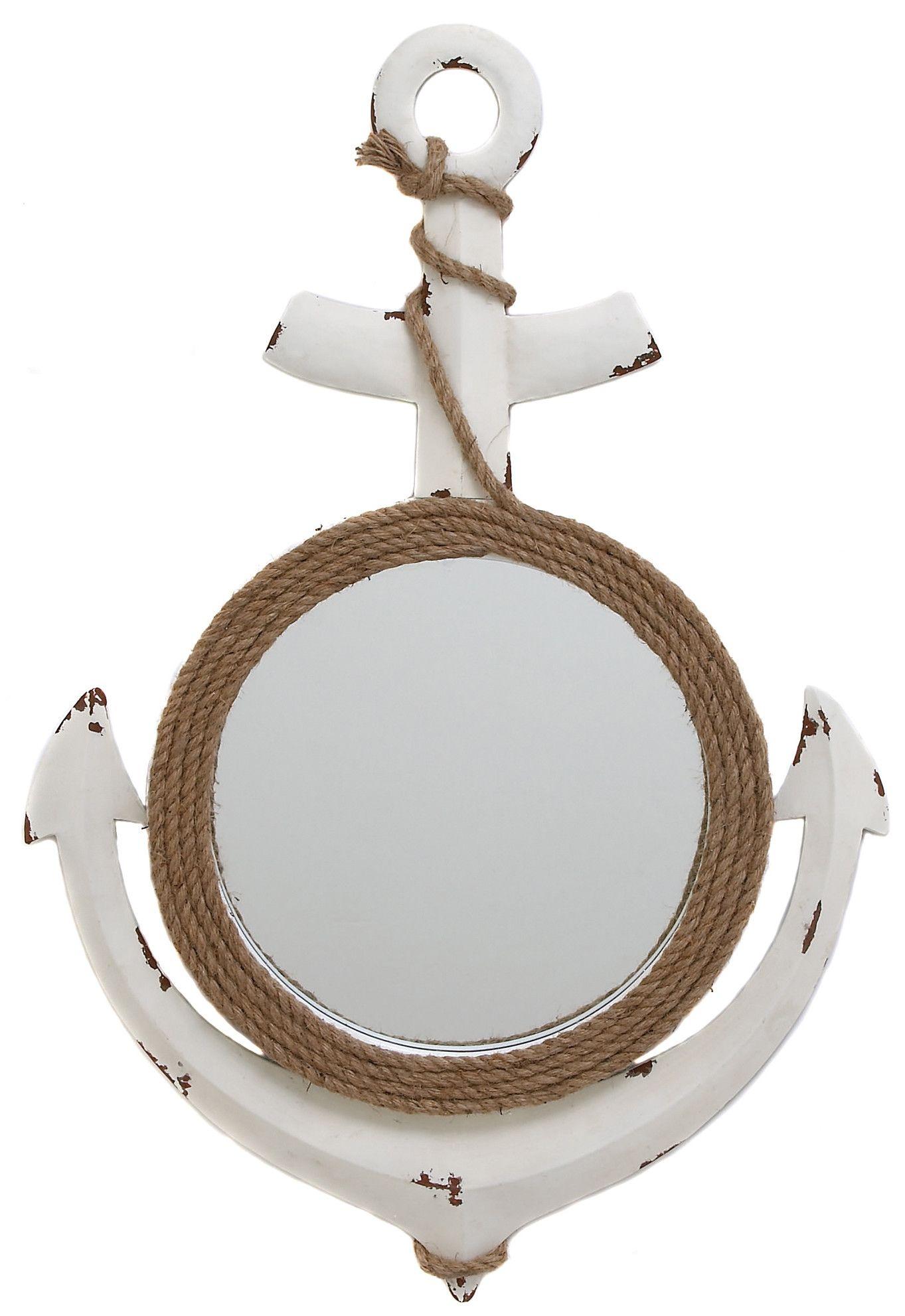 Nautical Anchor Art Wall Mirror Mirror Wall Nautical Anchor Art