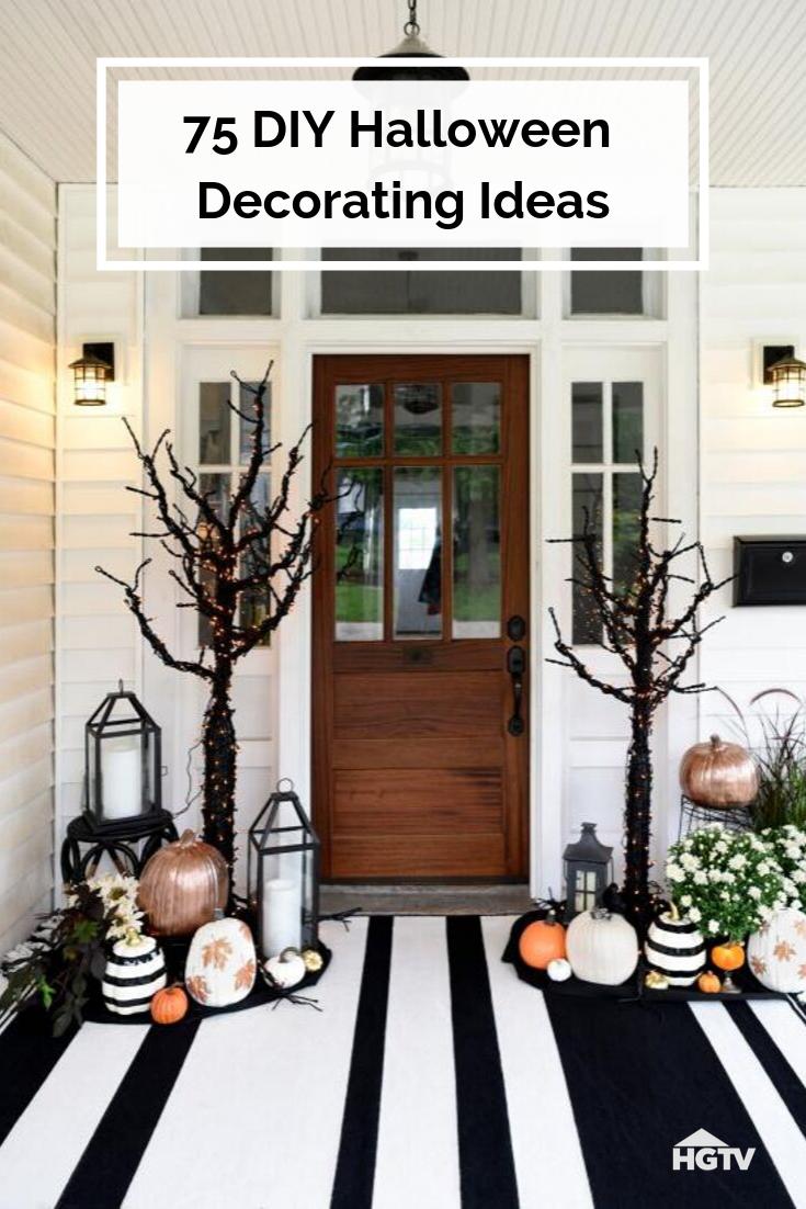 18 DIY Halloween Decor Ideas  Fall halloween decor, Halloween