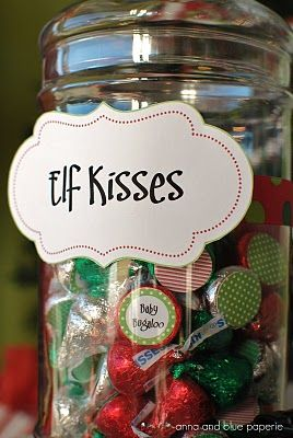 chocolate elf kisses