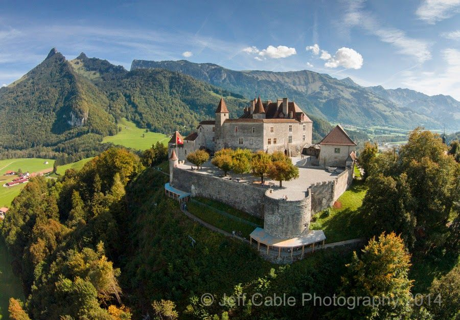 Gruyere Castle in Switzerland from Jeff Cable's Blog