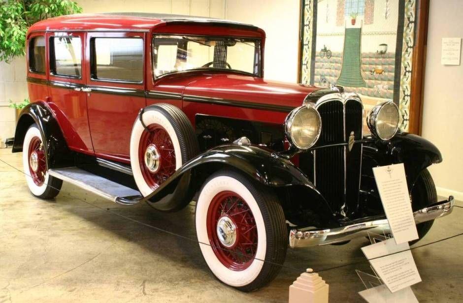 1931 Willys Knight Model 66d 4 Door Sedan Willys Old Classic