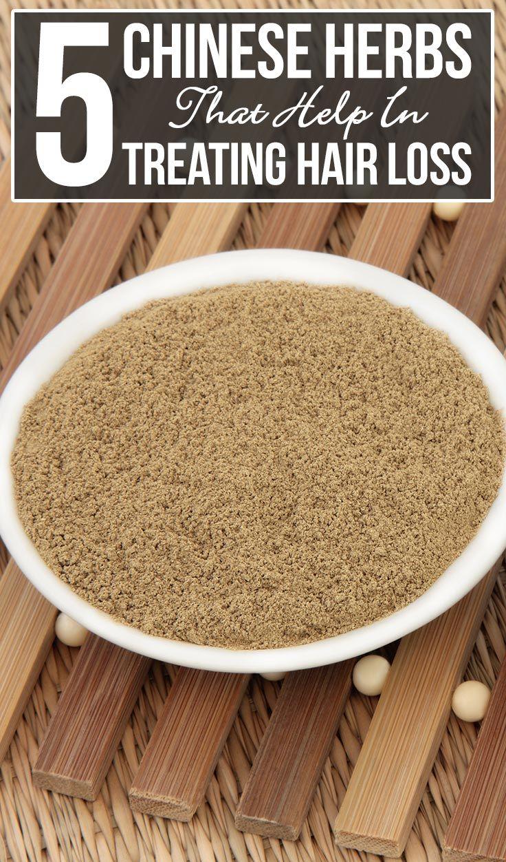 5 Chinese Herbs That Help In Treating Hair Loss Hair