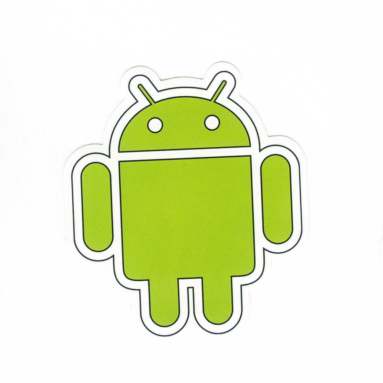 1091 ANDROID LOGO , Height 8 cm, decal sticker