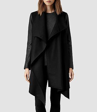 AllSaints: Chaquetas de cuero y abrigos para Mujer, Descubrelos Online